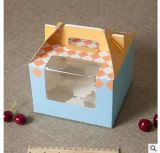 Cadre de gâteau fait sur commande de traitement d'Artpaper avec le guichet de PVC