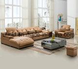 ベストセラーのイタリアの現代本革のソファー(UL-NS180)