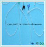 Le tube en plastique remplaçable de pente médicale de précision branchent le pointeau de veine d'épicrâne