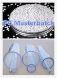 Het plastic Polycarbonaat Witte Masterbatch van de Grondstof