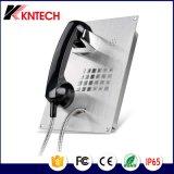 Telecomunicações à prova de intempéries Knzd-07c do telefone análogo da montagem do resplendor do IP Viop
