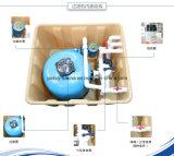 Filtro de piscinas integradas de piscinas sem fio de alta qualidade, sistema de filtro de piscina subterrânea integrado