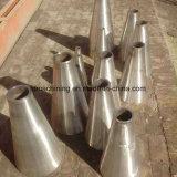 Tubo de acero afilado