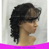 100 париков шнурка Unprocessed человеческих волос девственницы Glueless полных