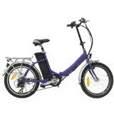 2017 forma 20V 250W que dobra a bicicleta Pocket elétrica com certificação do Ce