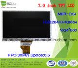 """module de TFT LCD de 7.0 """" 1024X600 Mipi, 30pin pour la position, sonnette, médicale, véhicules"""