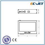 Срок годности кодируя непрерывный принтер Inkjet для печатание коробки (ECH700)