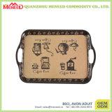 Поднос сервировки меламина печати OEM приемлемо изготовленный на заказ на сбывании