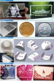 Etiqueta de plástico y grabado del metal del fabricante de la máquina de la marca del laser de las tecnologías de la fibra 20With30W Ipg