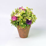 Beautiful Pleasant Artificial Rose Flor Bonsai Topiary