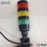Nueva luz de la torre de la señal 24V, luz de indicador del CNC, luz del trabajo de la máquina