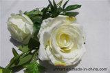 Gefälschte Rosa Blumen Großhandelsqualitäts-dekorative künstliche Rosen-