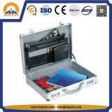 Caisse de serviette d'ordinateur portatif d'attaché d'affaires en aluminium (HL-2601)