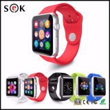 Meilleur Vente A1 V8 Q8 Bluetooth montre Smart Watch Sport pour iPhone et Android Phone Assistance Facebook Twiter