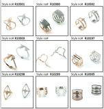 Plata esterlina de la venta al por mayor 925 de China/joyería de traje del cobre/del acero inoxidable como anillo de la manera del regalo para la boda (R10399)