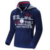 Изготовленный на заказ одежда верхней части печати пуловера спортов Hoodies способа ватки хлопка людей (AL012)