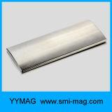 Постоянный сильный изогнутый магнит дуги неодимия магнита N35-N52