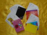 2017 cartes éducatives Yh02 de PVC de l'impression de couleur 0.30mm