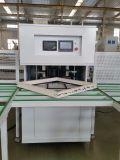 Soldadora horizontal de la esquina cuatro automáticos del control del CNC de la puerta de la ventana de UPVC