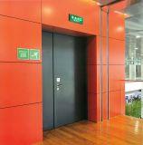 組み込みねじ穴によって補強される版の耐火性の鋼鉄ドア
