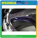 Capa de epoxy metálica del polvo de la pintura del poliester de la vinculación brillante rápida de la salida