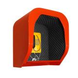 Capa acústica fixada na parede do telefone para posições comerciais/premisoes industriais