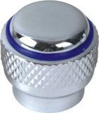 Manija del grifo en plástico ABS con acabado cromado (JY-3016)
