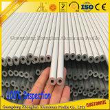 6000series anodisiertes Aluminiumstrangpresßling-Quadrat/rund/oval/flach Gefäß