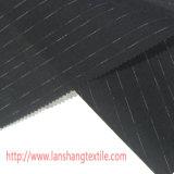 O fio tingiu a tela de algodão de linho da tela de Slue para o vestuário de matéria têxtil da HOME da saia do vestido