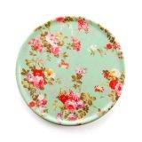 Padellame blu e bianco dell'insieme di pranzo di ceramica d'imitazione