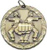 Alloy Custom Design Antique Gold 3D Medal