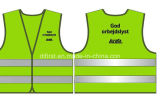 Het Vest van de veiligheid voor Jonge geitjes & Volwassenen, van het Breien van Stof worden gemaakt, Directe Fabriek die