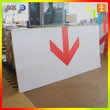 Strato del PVC e scheda del segno per fare pubblicità