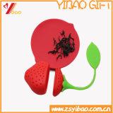 Cadeau fait sur commande d'Infuser de thé de silicones de logo de qualité (XY-HR-92)