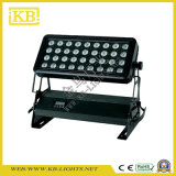 36PCS * 10W RGBW 4in1 LED arandela de la pared de luz para exterior