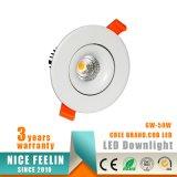 MAZORCA Downlight de la marca de fábrica LED del CREE 10W con el Ce RoHS