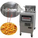Sartén con mucha grasa industrial de Cnix para el pollo frito Ofg-321