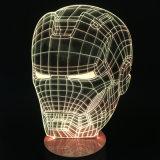 L'acrylique gravent le cadeau d'anniversaire de cadeau de crâne