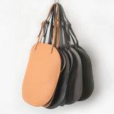 Leer van de Handtas Pu van de Zak van de Schouder van de Stijl van de manier Trendy Koreaanse Ovale Dame Handbag