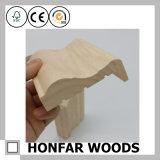Moldeado de madera preparado del marco de puerta del material de construcción que moldea