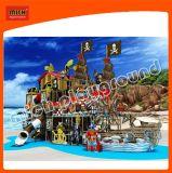 Piraten-Thema-Innenkind-weicher Spielplatz mit Plättchen