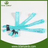 Bracelet direct de tissu de la Chine d'usine avec le clip en plastique