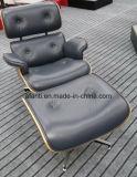 현대 가구 나무로 되는 가죽 Eames 여가 라운지용 의자 (RFT-F5D)