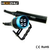 Van het LEIDENE van Hoozhu Hu33 CREE Maximum 4000 het Duiken Lumen Flitslicht