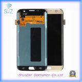 Samsung S7 가장자리를 위한 LCD는 접촉 스크린 지능적인 셀룰라 전화를 디스플레이한다