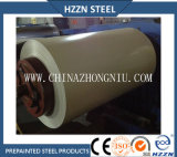 Placa de acero galvanizada prepintada