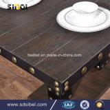 型のTolix Industralの金属のレストラン表Sbe-CZ0616