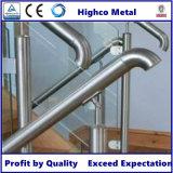 Extrémité convenable de tube de balustrade d'acier inoxydable