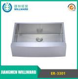 Stainless Steel Er-3301 Ferme Artesanat évier de cuisine