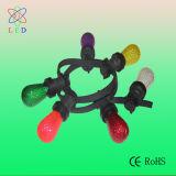 El bulbo coloreado verde del LED E12 C7 para el día de fiesta adorna la iluminación